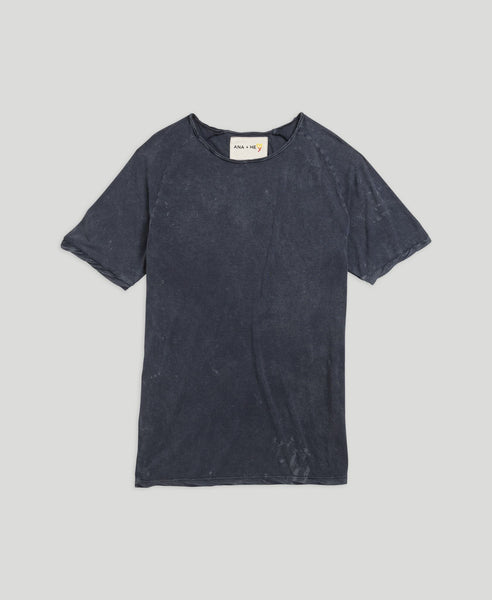 Raglan T-shirt              Not Shy                            Dark Blue