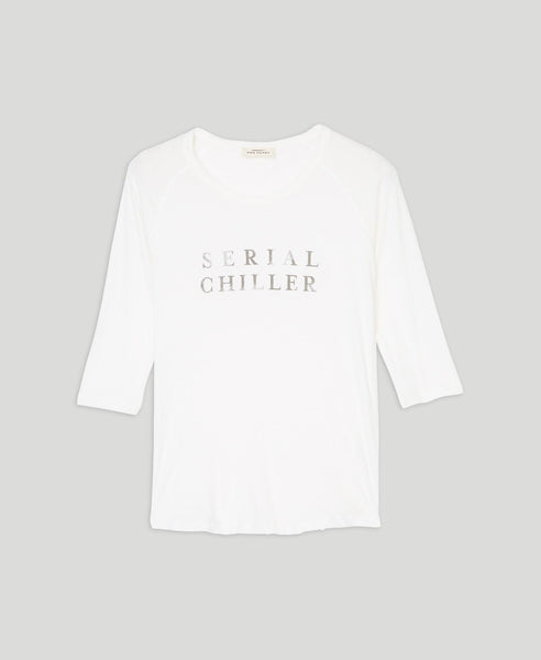 Tee-shirt Serial chiller                    Selena                                        Oatmeal