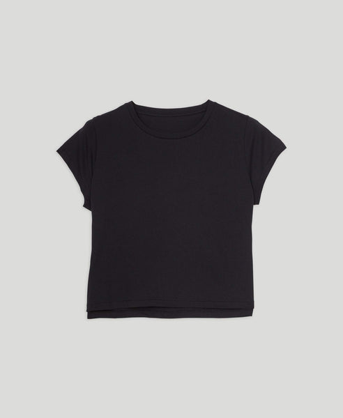 Tee-shirt court                    Trust                                        Black