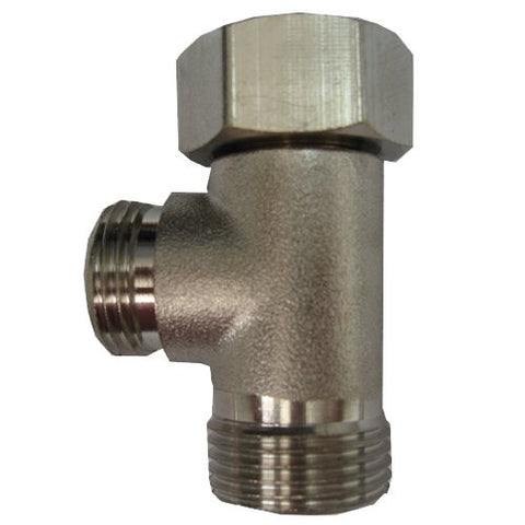 Metal T-Connector for Toilet Tank Connection for BB-500, BB-1000 & BB-3000