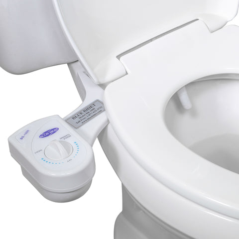 Blue Bidet BB-1000: Room temperature water bidet, adjustable pressure