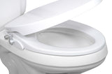 Blue Bidet BB-6000: Intelligent Toilet Seat Bidet for Elongated Toilets