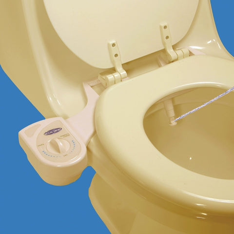 Blue Bidet BB-1000 (Beige): Ambient temperature water bidet, adjustable pressure