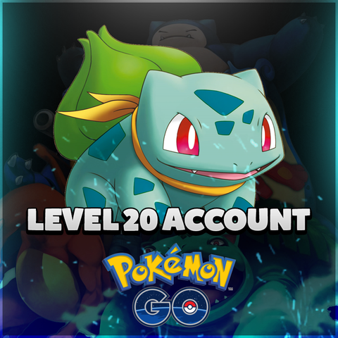 Pokemon GO Level 20 Account