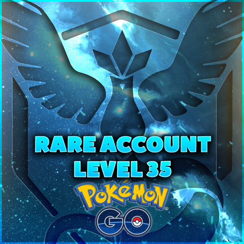 RARE Pokemon GO Account - LEVEL 35