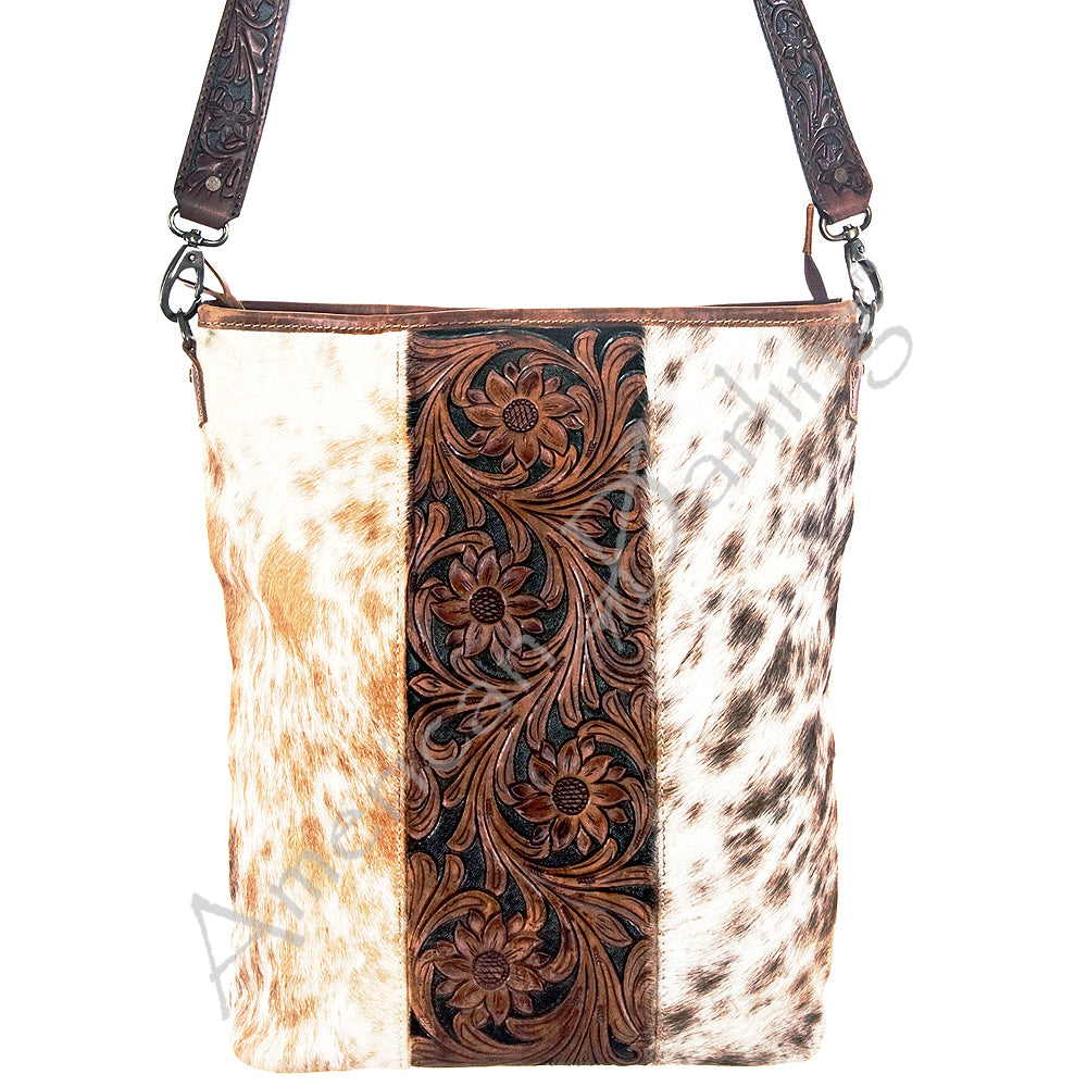 AMERICAN DARLING COWHIDE  CARRY CONCEAL TOTE