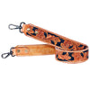 AMERICAN DARLING TOOLED LEATHER PURSE STRAP