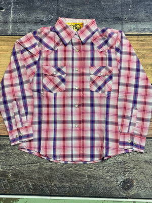 GIRLS PEARL SNAP SHIRT