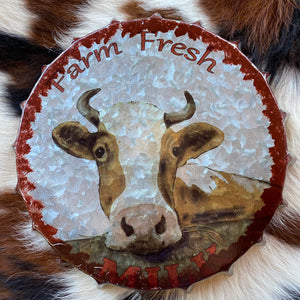 FARM FRESH MILK BOTTLE TOP