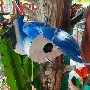 BLUE BIRD BIRDHOUSE