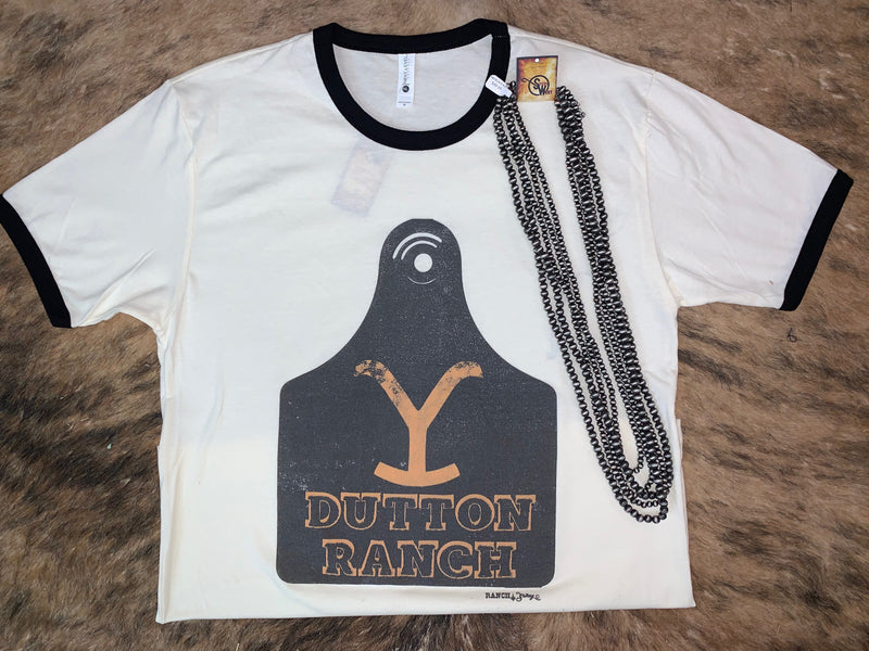 Dutton Ranch Ear Tag Tee