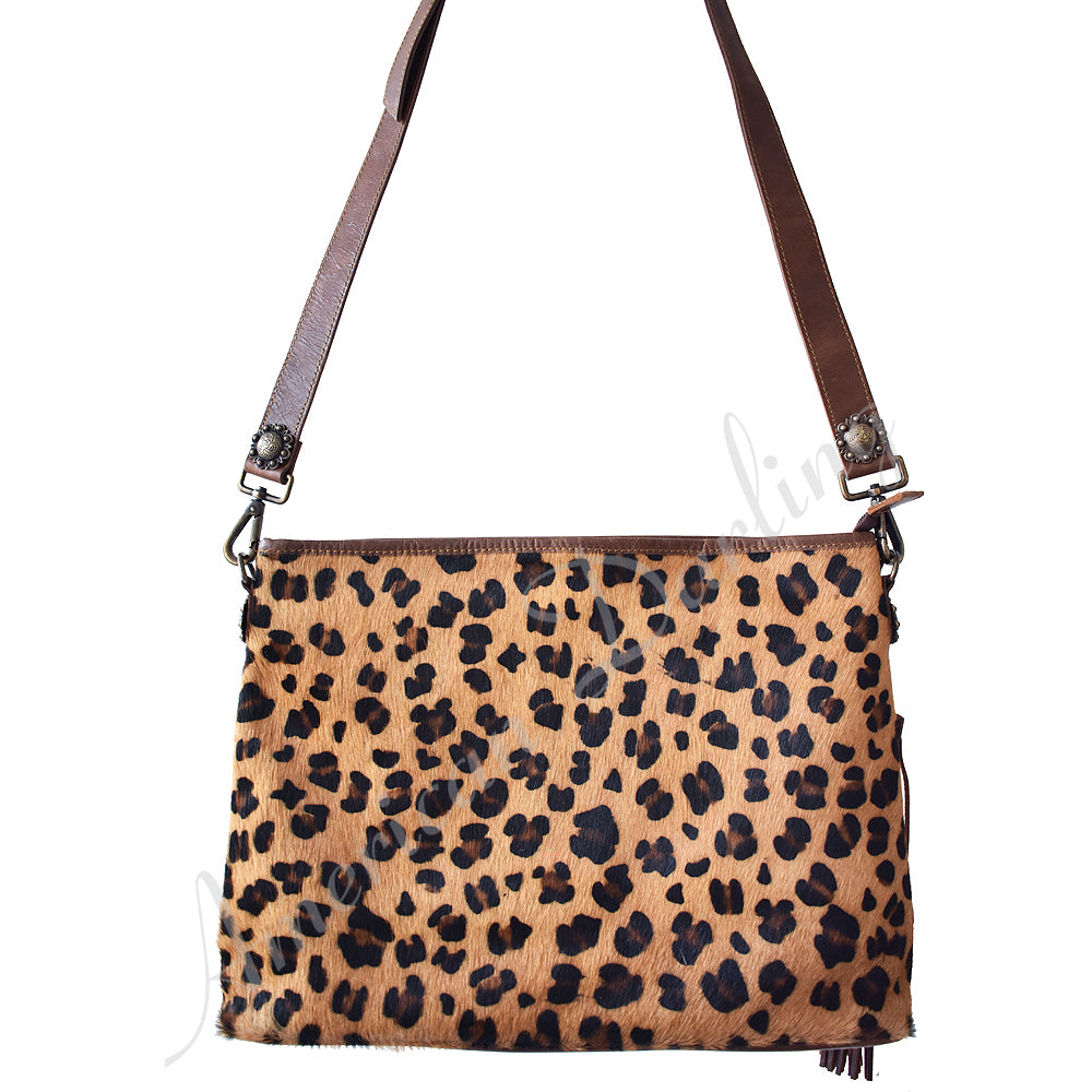AMERICAN DARLING CHEETAH CARRY CONCEAL CROSSBODY