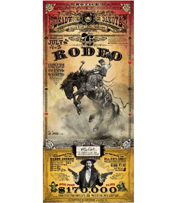 2012 Rodeo Poster Deadwood