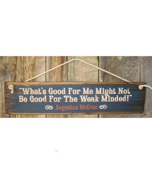 What's Good For Me Sign