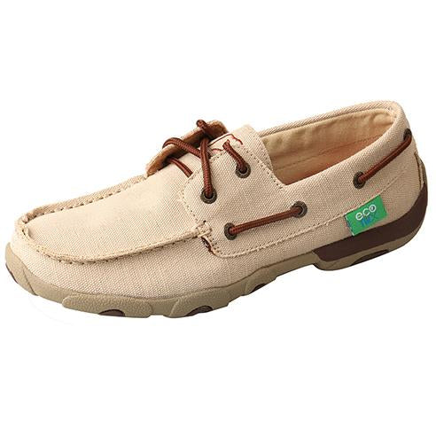 Twisted X Women's Eco TWX Tan Driving Moc