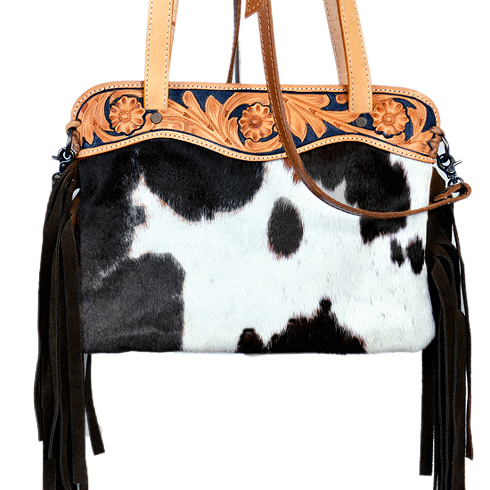 AMERICAN DARLING SMALL COWHIDE BAG