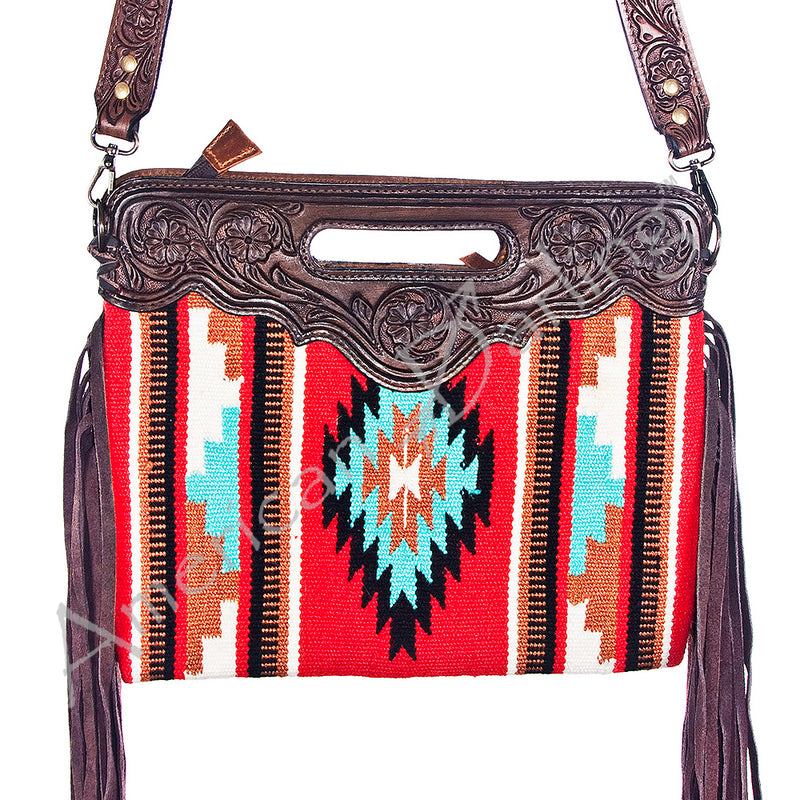 AMERICAN DARLING SADDLE BLANKET CLUTCH