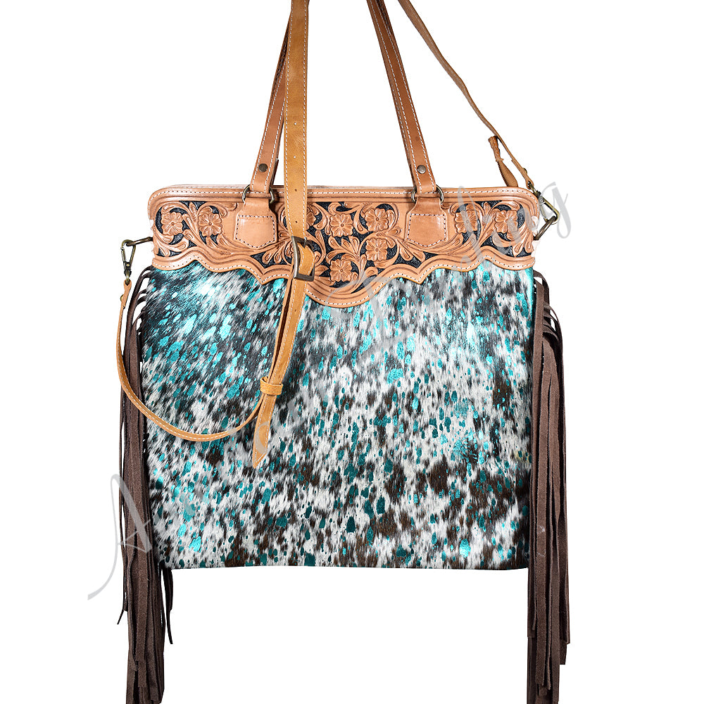 AMERICAN DARLING ACID WASH TOTE