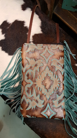 Cross Body Leather Purse