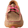 Twisted X Pink Ribbon Women's Driving Moc