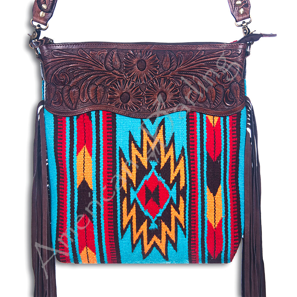 AMERICAN DARLING SADDLE BLANKET TOTE