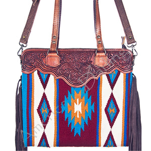 AMERICAN DARLING SADDLE BLANKET PURSE