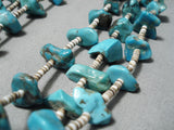 Noteworthy Vintage Navajo Turquoise Necklace Old Native American