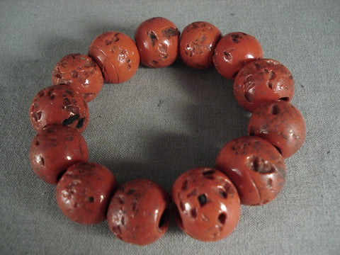 Absolutely Wonderful Chuink Coral Stretch Bracelet-Nativo Arts