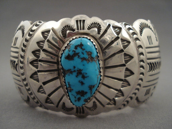 Advanced Native American Jewelry Silver Work Vintage Navajo Turquoise Native American Jewelry Silver Bracelet