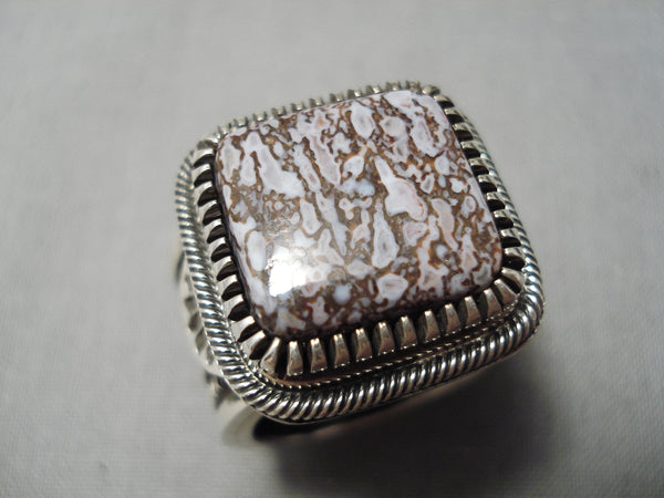 Detailed And Heavy!! Navajo Sterling Silver Native American Thick Ring!