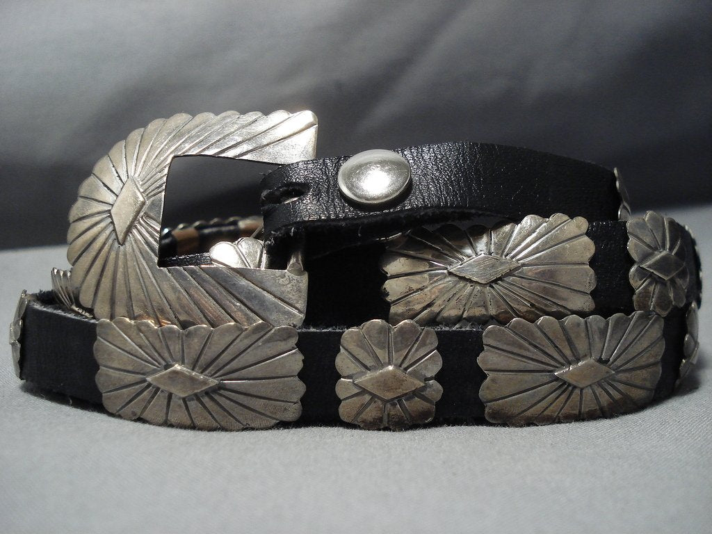 Concho Belt For Jeans Vintage Native American Jewelry