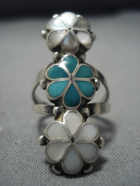 Flowers Of Sterling Silver Vintage Native American Jewelry Navajo Pear Nativo Arts