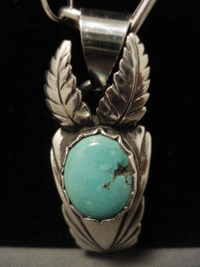 Important Vintage Cochiti Joseph Quintana (d.) Turquoise Native American Jewelry Silver Necklace-Nativo Arts