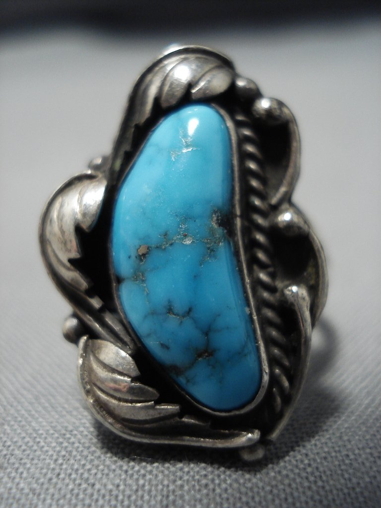 Important Vintage Native American Jewelry Navajo Blue Wind ...