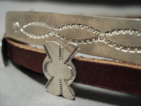 Important Yellowhorse Vintage Navajo Hat Concho Belt Sterling Native American Jewelry Silver Band-Nativo Arts