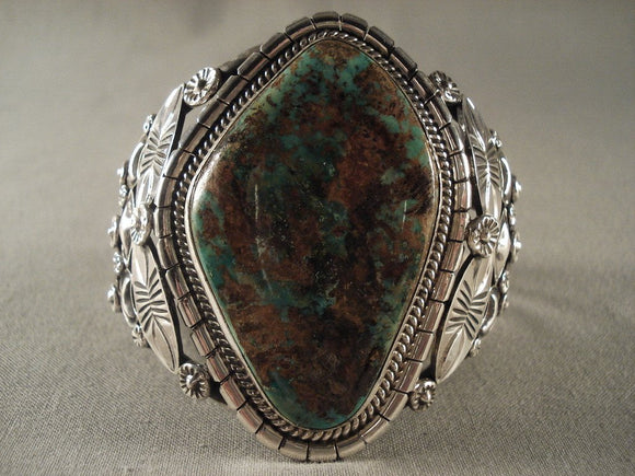 Mind Blowing Modernstic Navajo Native American Jewelry jewelry Royston Turquoise Bracelet-Nativo Arts
