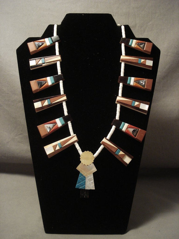Museum Modernistic Santo Domingo 'Maiden Woman' Necklace-Nativo Arts