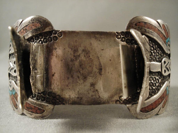 Museum Vintage Navajo Native American Jewelry jewelry Watch Bracelet