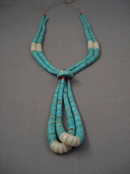Museum Vintage Santo Domingo Number 8 Turquoise Necklace