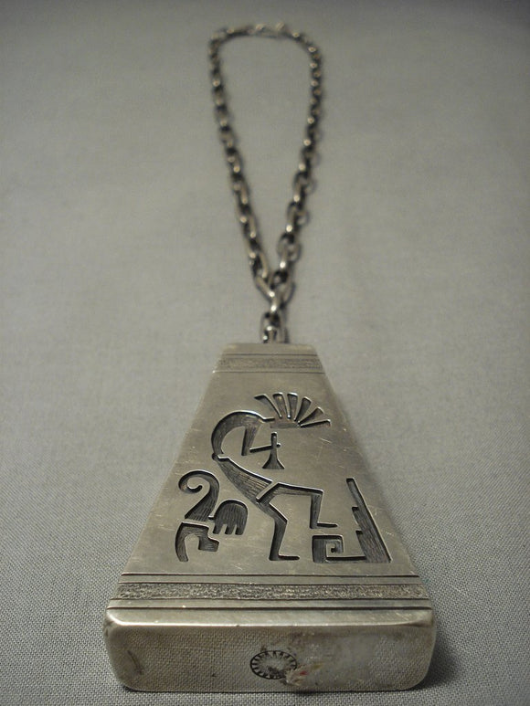 One Of The Finest Vintage Hopi Sterling Native American Jewelry Silver Necklace We Have Collected- Heavy-Nativo Arts