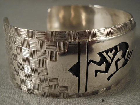 One Of The Last Bracelet Hopi Sidney Sekakuku Made-Nativo Arts