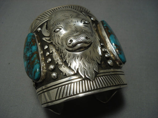 The Best Vintage Navajo Thomas Singer Turquoise Sterling Native American Jewelry Silver Bracelet Old