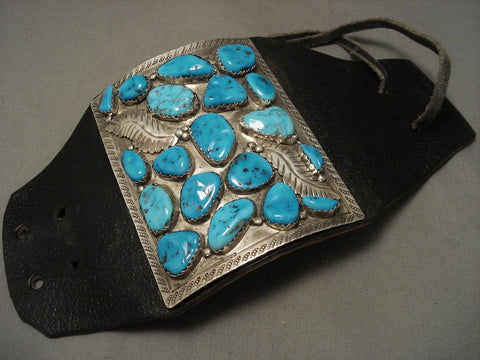 The Largest Zuni Ketoh Bracelet Of The 1960's Era-Nativo Arts