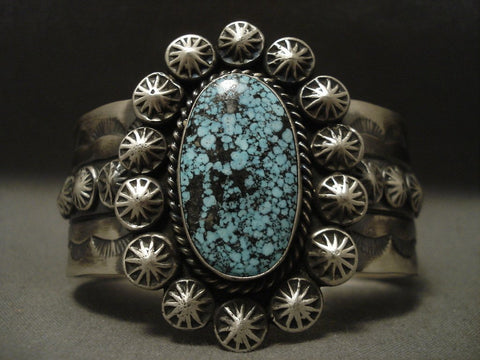 Very Rare Navajo Native American Jewelry jewelry real Darling Darlene Turquoise Bracelet-Nativo Arts