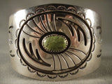 Wide swirling Geometrics Vintage Navajo Native American Jewelry jewelry Bracelet-Nativo Arts