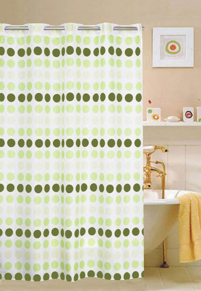 Circle Green - Shower Curtain. FREE SHIPPING - DecoBuster