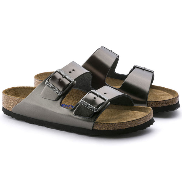 Arizona Soft Footbed - Metallic Anthracite