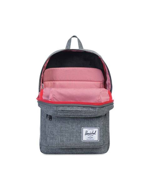 Pop Quiz Backpack- Raven Crosshatch