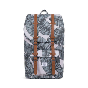 Little America Backpack- Silver Birch Palm/Tan