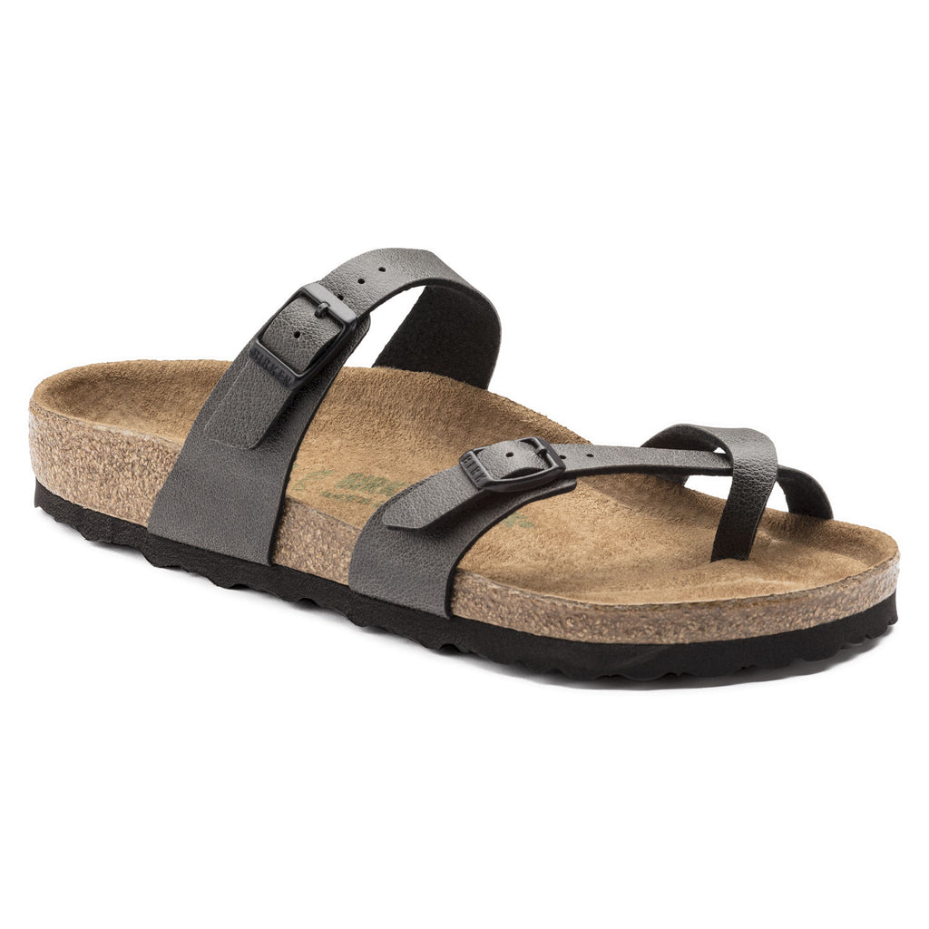 6f18a0c6b7ac Mayari Birko-Flor Pull Up Anthracite  Vegan – Hays Co. Outfitters
